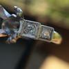 Antique 5-stone Setting, Platinum 4
