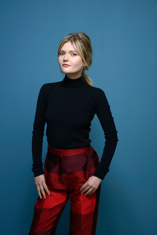 . Actress Sophie Kennedy of \'Philomania\' poses at the Guess Portrait Studio during 2013 Toronto International Film Festival on September 8, 2013 in Toronto, Canada.  (Photo by Larry Busacca/Getty Images)