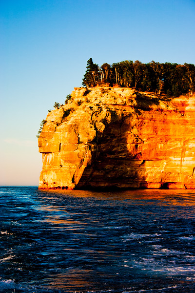 Picture Rock in Northern Michigan