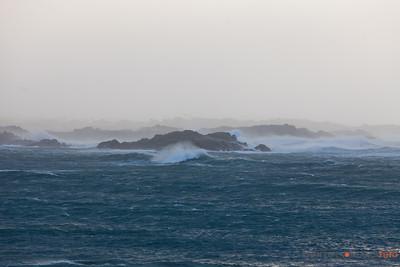 Stormen Berit treffer Karmøy 27. nov 2011