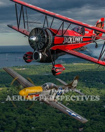 Multiple Aircraft Shoot - R.I Airshow 6/10/16 N119H  N780S N32KP N540JH N621MG