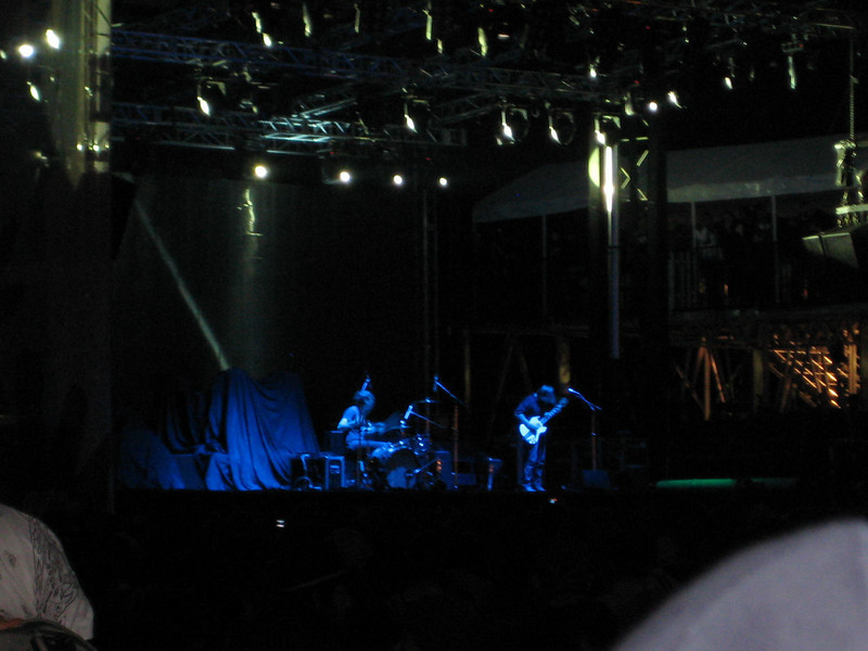 The Black Keys on the main stage.