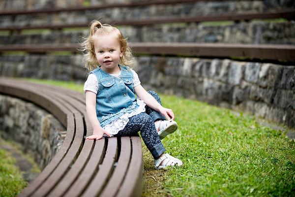 Williamsport Child Photographer : 6/3/17 Bria is 2!