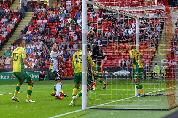 Sheffield United v Norwich City 18 - 08 - 18