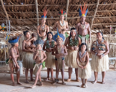 Along the Amazon River