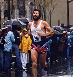 Individuals - Bob Cook in the Vancouver Marathon in the early 1980's