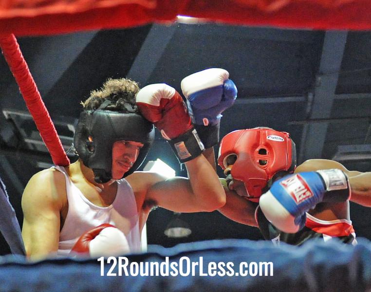 Francisco Figueroa-Perez (Cleveland B.C.) vs Abdus McGlothin (Lonnie Burton Rec.)  152 Pound-Novice  Bout # 3