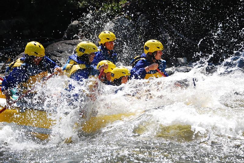 Big splashes on the Klamath