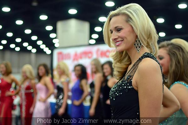 Miss Auto Show 2013