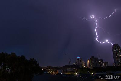 Sydney Lightning - Dec 20 2013
