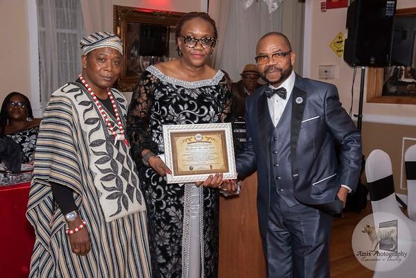 Legendary Ladies First Scholarship & Benefit Dinner. Newark, New Jersey.