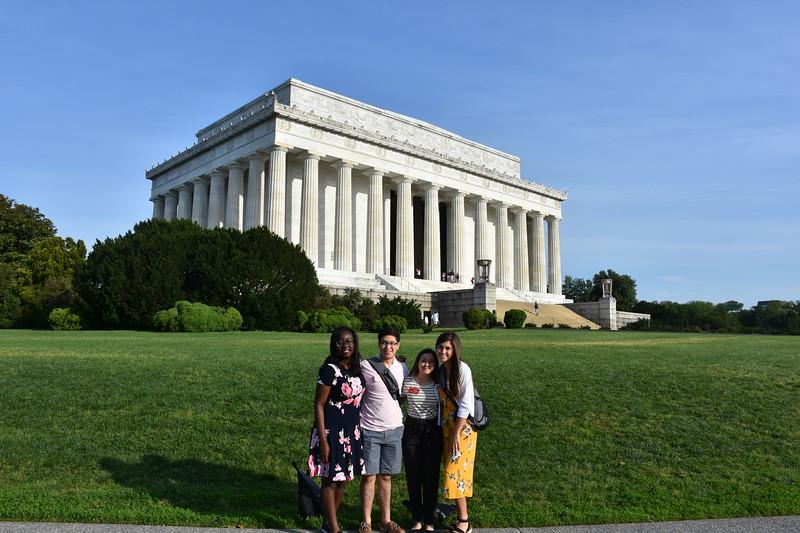WYT 2019 Lincoln Memorial.