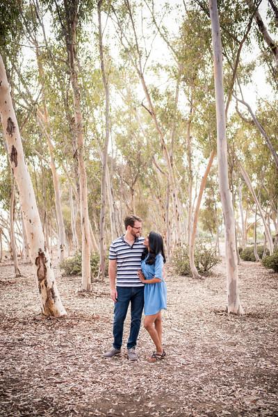 Priya + Sean | La Jolla Engagement Photos | San Diego Wedding Photographer