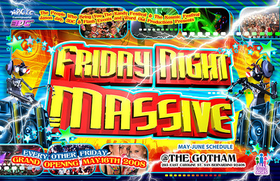 Friday Night Massive June 27th