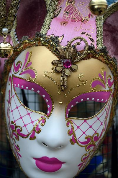 Carnival Mask - Burano, Venice, Italy - April 18, 2014