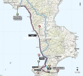 Giro d'Italia Stage 4: Bussentino > Serra San Bruno, 246kms