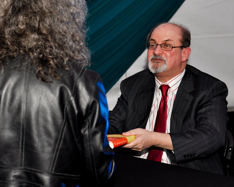 Legendary Author Salmon Rushdie Lectures