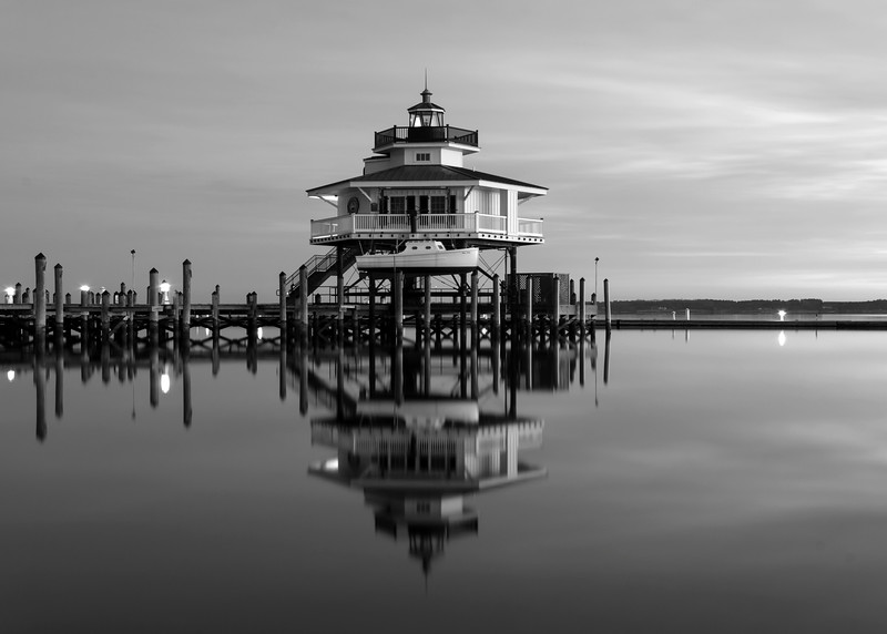 Choptank Lighthouse Five Monochrome.jpg