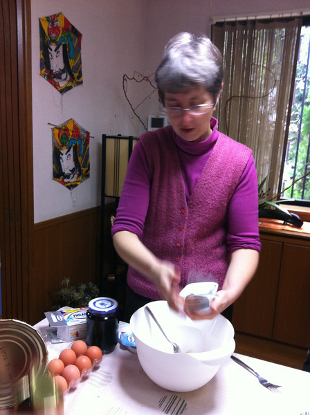 Romanian Cooking Class, December 4, 2012