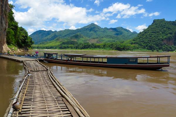 Luang Prabang Day Trip:  Mekong Riverboat to Buddha Cave