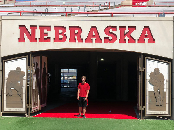 Nebraska U - Lincoln - Wed., June 26, 2018 Stadium Tour