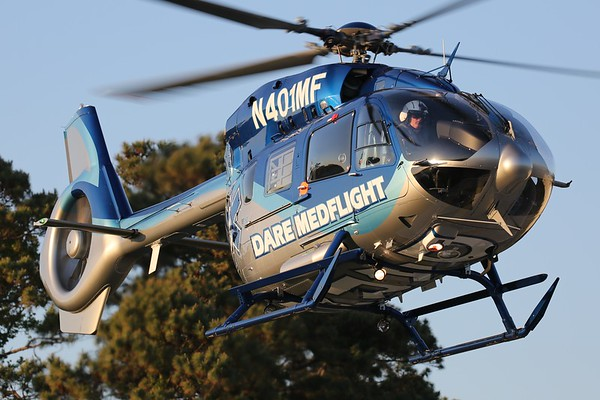 Dare MedFlight 2015 Airbus Helicopters Deutschland MBB-BK 117 D-2, Manteo, 02May18