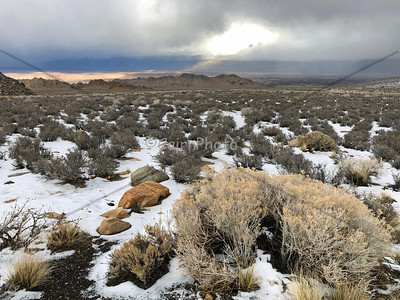 Eastern Sierra Snow 2019