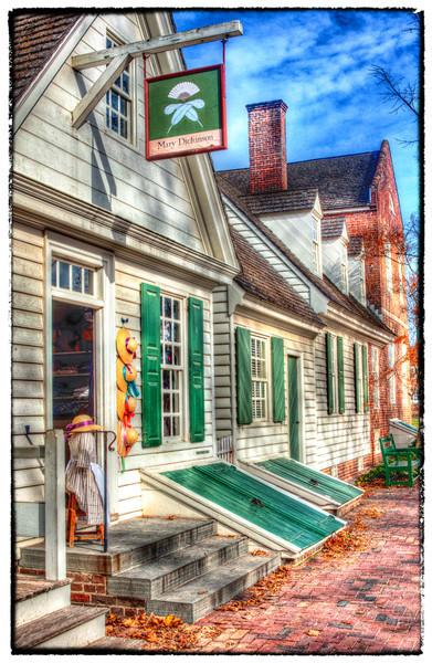 Colonial Williamsburg Signage