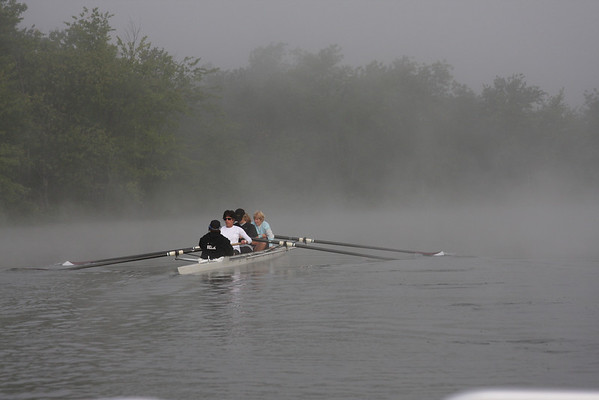 Adult Rec on Foggy Morning 08-18-12