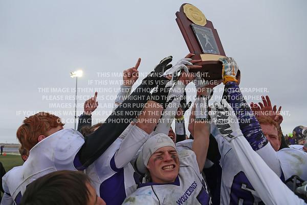 Colorado High School State Championship 2015 Varisty Football Bayfield vs Platte Valley