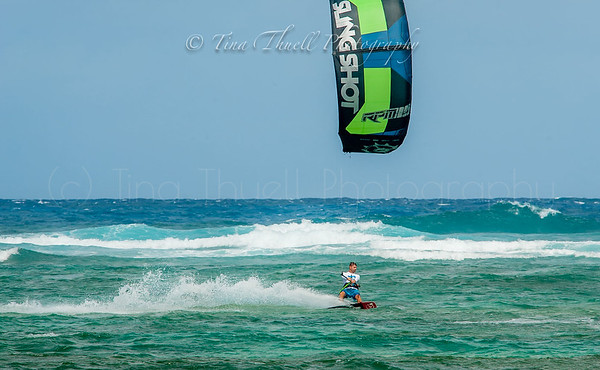 Kite Surfing at Nisbet with Jeff Andrade