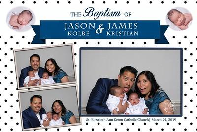 Jason & James Baptism 2019
