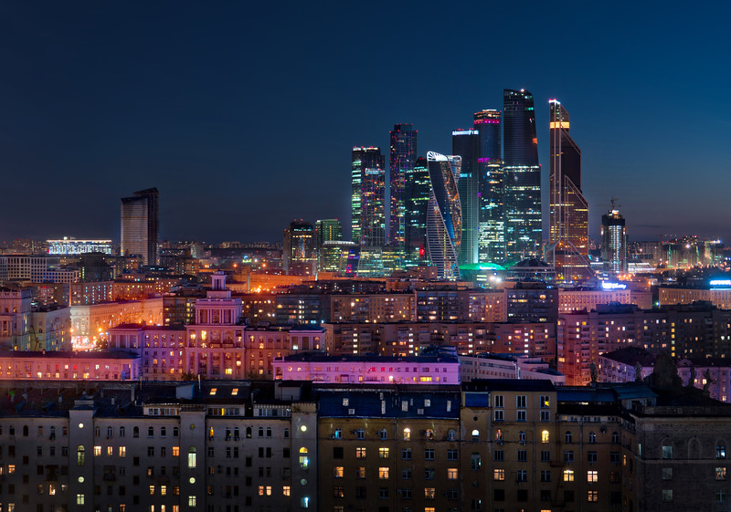 Downtown Moscow