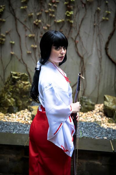 Fairwind Cosplay as Kikyo from Inuyasha,