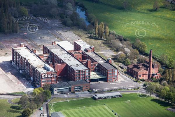 Cadbury's Somerdale Factory.