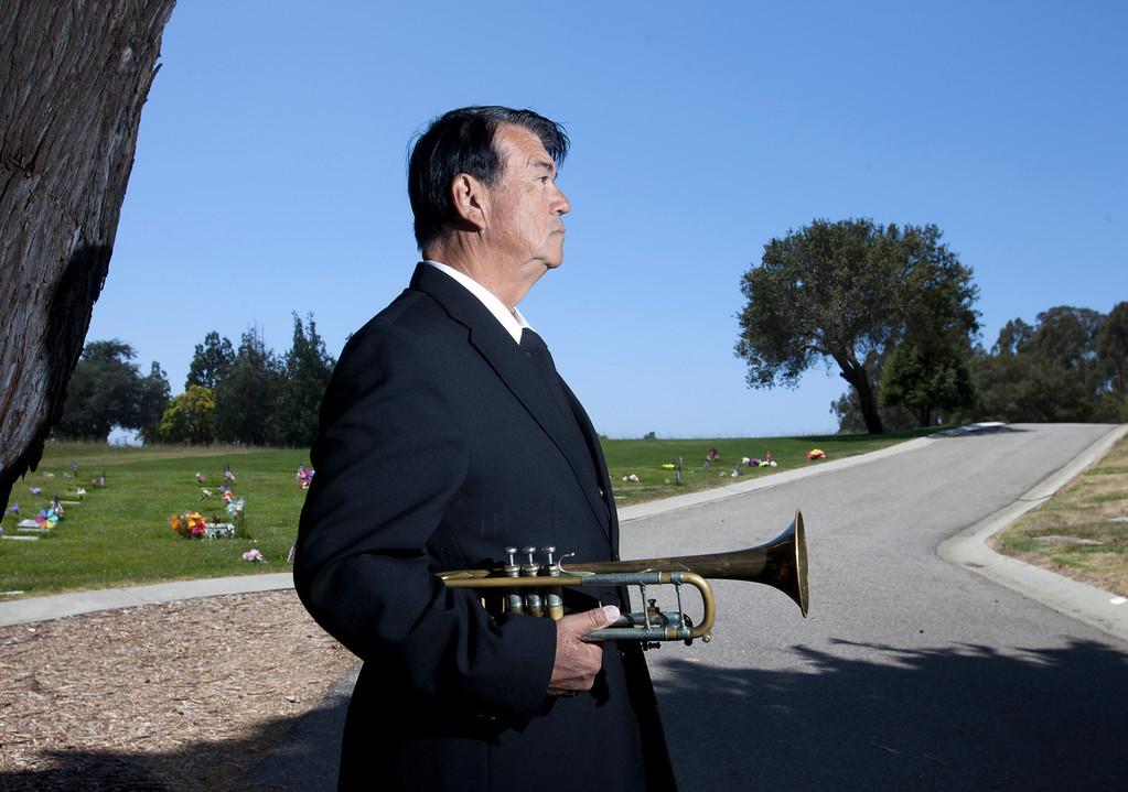 . Kenneth Weir at Santa Cruz Memorial in Santa Cruz on Thursday, May 23, 2013. (Patrick Tehan/Bay Area News Group)