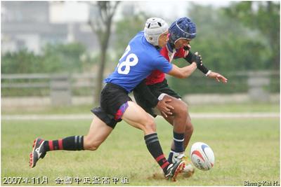 2007年全國中正盃橄欖球錦標賽高中組(Taiwan Chung-Cheng Cup, Senior High School Group)