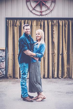 Ryan & Alicia Engagement - film/pastel