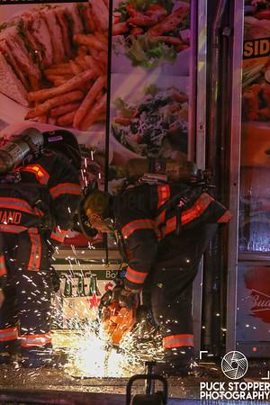 Vape Shop Fire - 583 Central Park Ave, Yonkers, NY - 11/13/18
