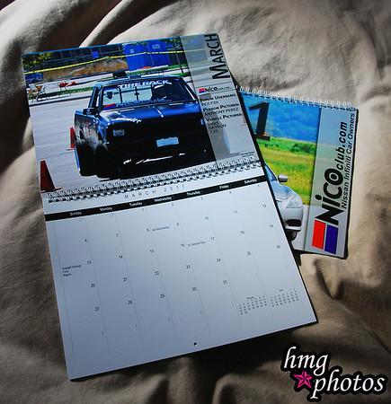2011 NICO Club Calendar