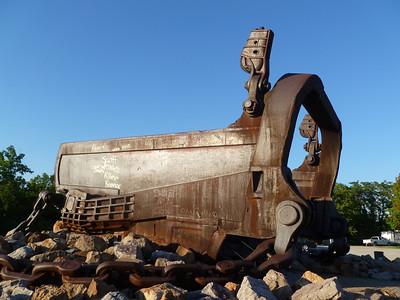 The Big Muskie Bucket - Cumberland, OH - 7 Aug. '12