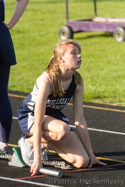 2016-05-06 Hillsdale Academy Varsity Track at Onsted