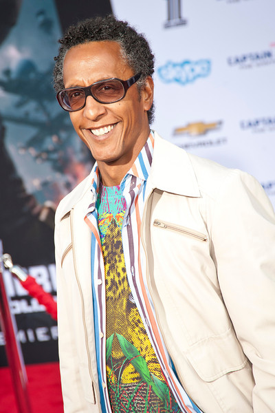 HOLLYWOOD, CA - MARCH 13: Actor Andre Royo arrives at Marvel's 'Captain America: The Winter Soldier' premiere at the El Capitan Theatre onThursday,  March 13, 2014 in Hollywood, California. (Photo by Tom Sorensen/Moovieboy Pictures)