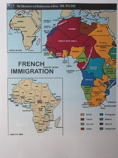 002_Afrique Coloniale. Côte d'Ivoire. 4 grandes ethnies, 20 sous-ethnies.JPG