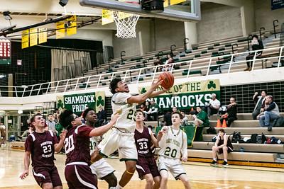 2019-12-14 Basketball - Pats vs Montini - JV