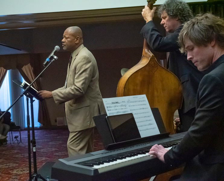 Lenard D. Moore and the Matt Kendrick Trio perform Geography of Jazz.