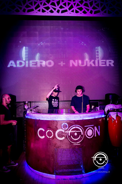 Cocoon Phuket DJ Adiero & DJ Nukier 18.5.2017