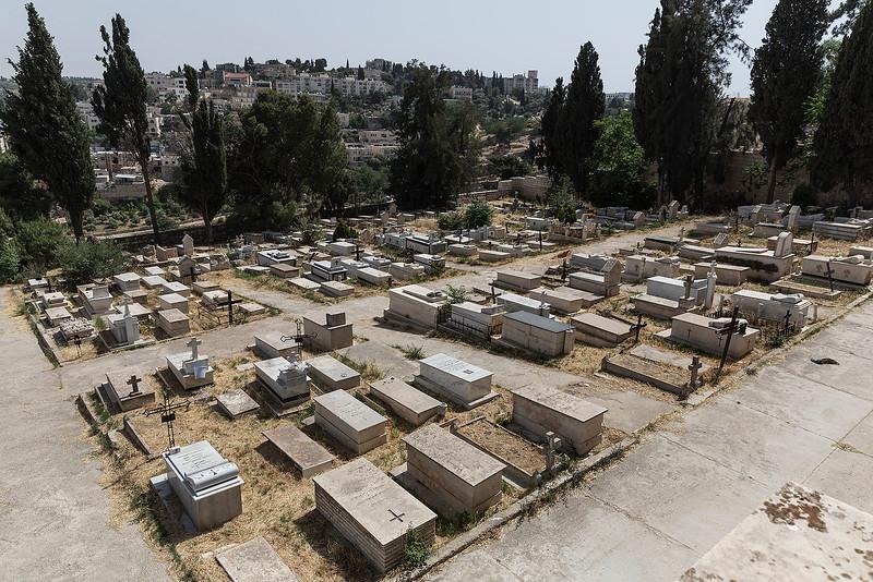 Cemetery where Oskar Schindler is buried