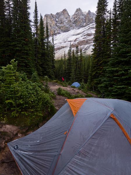 Tekarra campsite - Skyline Trail
