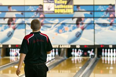 Valley Lutheran bowling at State Lanes 20150131